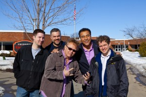 Crew with John Quinones